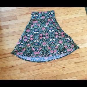 LuLaRoe Azure Skirt-Size Medium